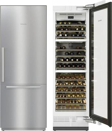 Miele  1083439 Kitchen Appliance Package Stainless Steel, Main Image