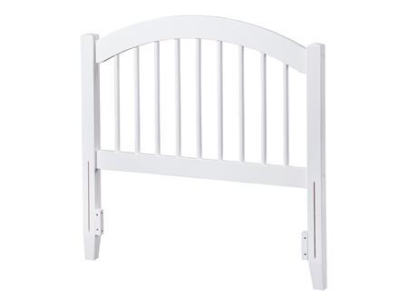 Atlantic Furniture Windsor AR294822 Headboard White, AR294822 SILO F 180