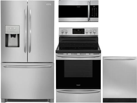 Frigidaire Gallery 1360780 Kitchen Appliance Package Stainless Steel, Main image