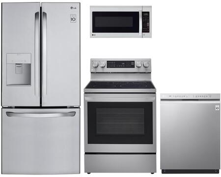 LG  1333034 Kitchen Appliance Package Stainless Steel, Main image