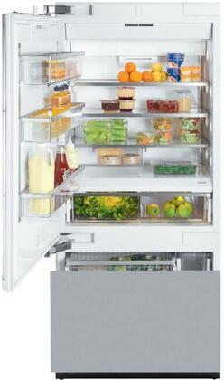 Miele  KF1913Vi Bottom Freezer Refrigerator Panel Ready, KF1913Vi MasterCool Fridge-Freezer