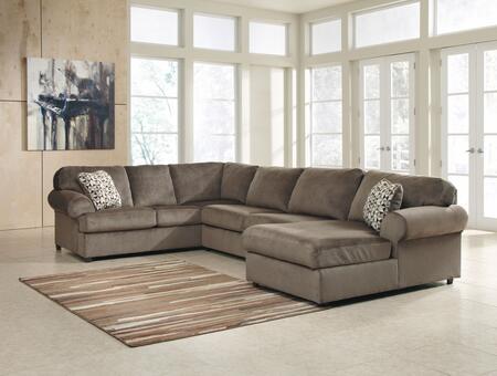 Signature Design by Ashley Jessa Place 39802173466 Sectional Sofa Gray, Main Image