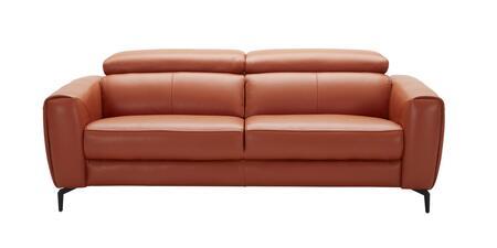 J and M Furniture Cooper 18742S Stationary Sofa Orange, Main Image