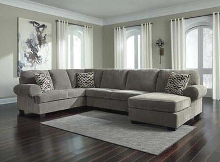 Signature Design by Ashley Jinllingsly 7250266347 Sectional Sofa Gray, 72502 66 34 17