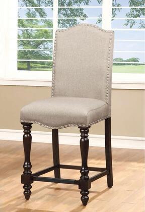 Furniture of America Hurdsfield CM3133PC2PK Bar Stool Beige, Main Image