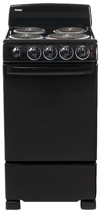 Danby DER202B Freestanding Electric Range Black, Main Image