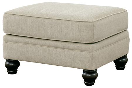 Signature Design by Ashley Milari 1300014 Living Room Ottoman Beige, Main Image