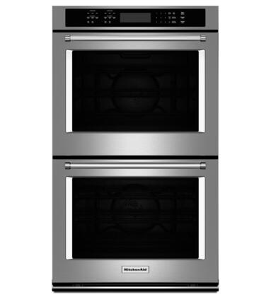 KitchenAid  KODE500ESS Double Wall Oven Stainless Steel, Main Image