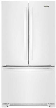 Whirlpool  WRF535SWHW French Door Refrigerator White, Main Image