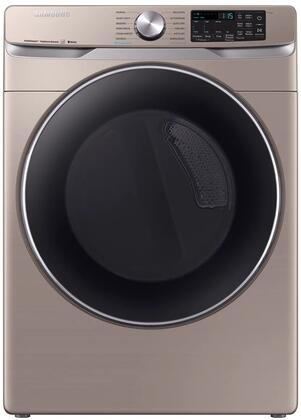 Samsung  DVE45R6300C Electric Dryer Champagne, Main Image