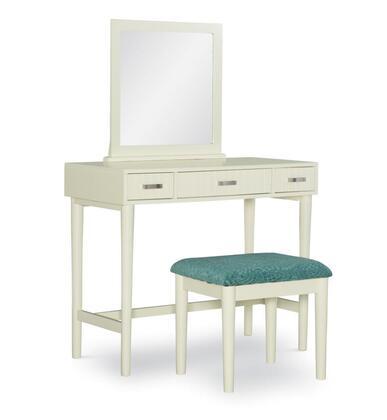 Linon Garbo VS065CRMABU Vanity White, VS065CRMABU 1