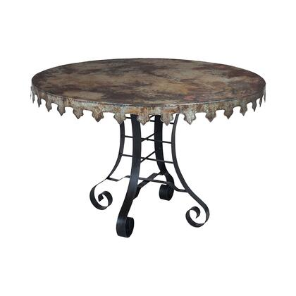Guild Master Reclaimed Tin 715051 Outdoor Patio Table , 715051