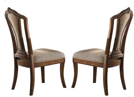 Acme Furniture Valletta 66172 Dining Room Chair Brown, Side Chair