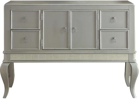 Acme Furniture Francesca 62084 Dining Room Buffet Silver, Server