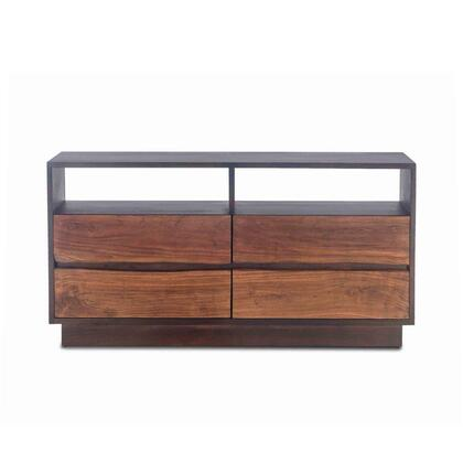 Palermo Collection ZWSMDR64RWEF Dresser in Raw Walnut