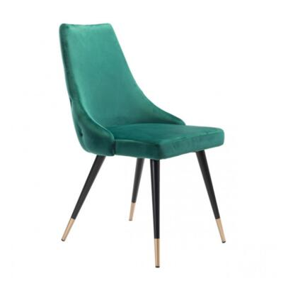 Zuo Piccolo 101090 Dining Room Chair Green, 101090 Front