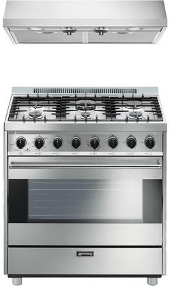 Smeg 890371 Kitchen Appliance Package & Bundle Stainless Steel, 1