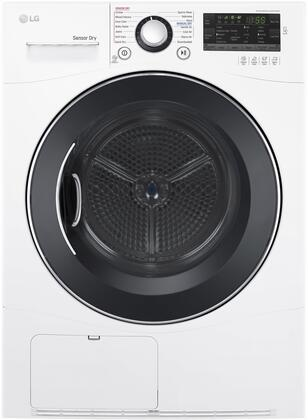LG  DLEC888W Electric Dryer White, Main Image
