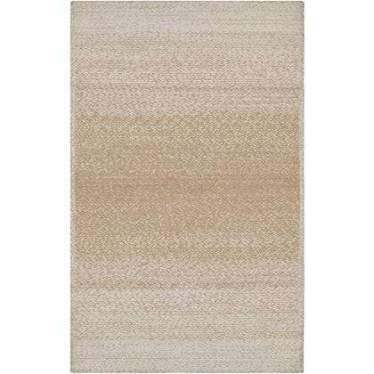 Aileen AIE-1003 8′ x 10′ Rectangle Cottage Rugs in Wheat