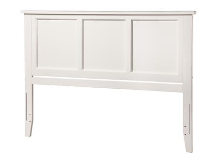 Atlantic Furniture Madison AR286852 Headboard White, AR286852 SILO F 180