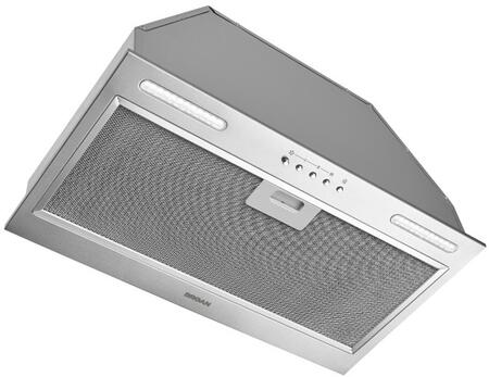 Broan  PM390SSP Range Hood Insert Stainless Steel, PM390SSP Angled View