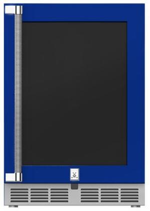 Hestan  GRWGR24BU Compact Refrigerator Blue, Main Image