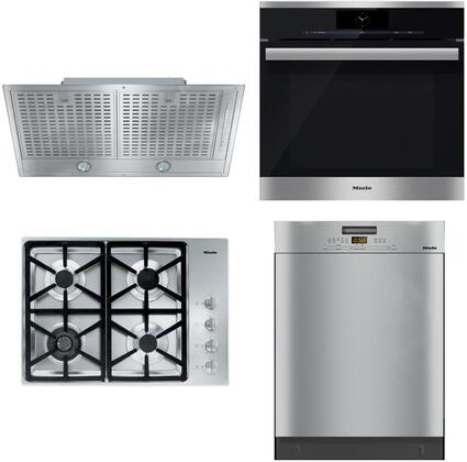 Miele  888401 Kitchen Appliance Package Stainless Steel, main image