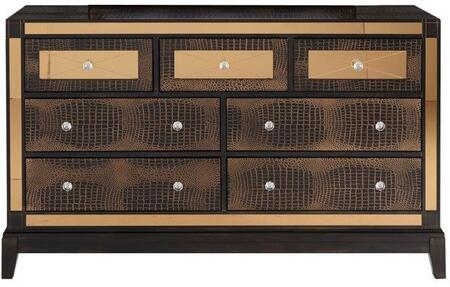 Global Furniture USA Mirror MIRRORCHOCD Dresser Brown, Main Image