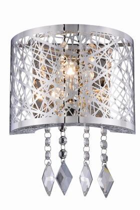 Elegant Lighting 2113W8CRC Sconces, Image 1
