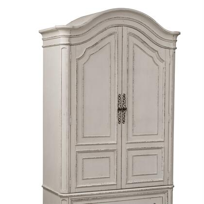 Liberty Furniture Magnolia Manor 244BR46 Armoir White, 244 br46 2