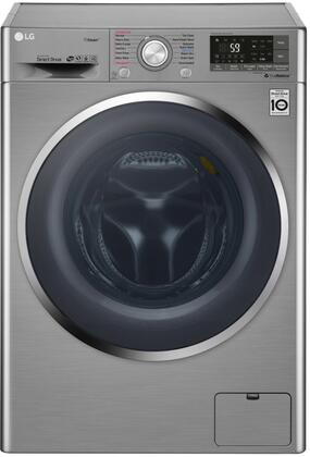 LG  WM3499HVA Washer & Dryer Combos Slate, Main Image