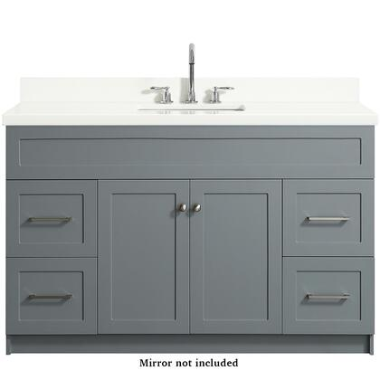 Ariel Hamlet F055SWQVOGRY Sink Vanity Gray, F055SWQVOGRY front