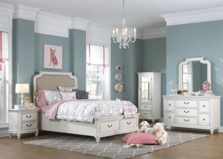 Samuel Lawrence Madison 5 Piece Twin Size Bedroom Set