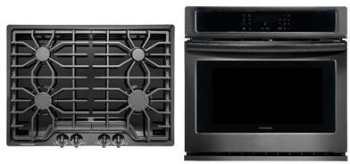 Frigidaire  850361 Kitchen Appliance Package Black, 1