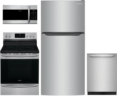 Frigidaire  1308059 Kitchen Appliance Package Stainless Steel, Main image
