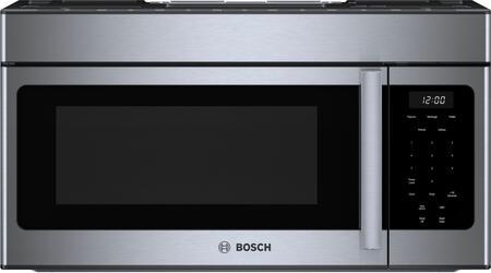 Bosch 300 Series HMV3053U Over The Range Microwave Stainless Steel, Main Image