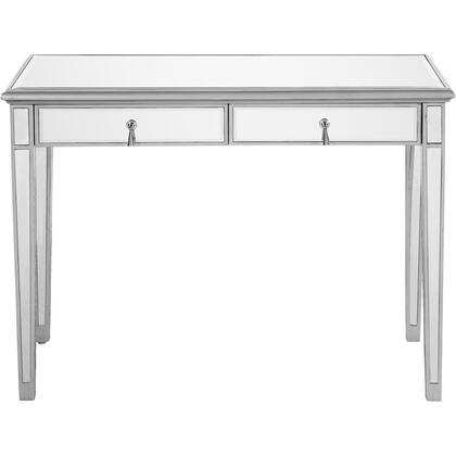 MF6-1006S Vanity Table 42″ X 18″ X 31″ In Silver