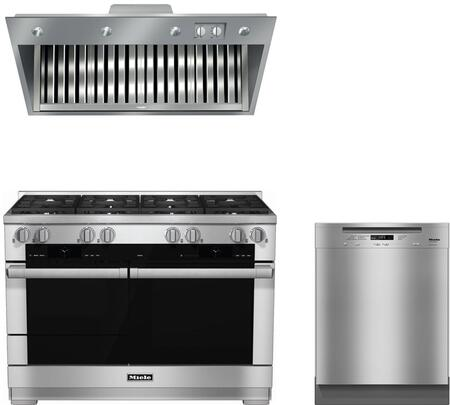 Miele  888322 Kitchen Appliance Package Stainless Steel, 888322