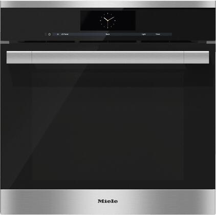 Miele M Touch DGC6760XXLSS Single Wall Oven Stainless Steel, Main Image