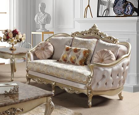 Cosmos Furniture Diana 3036CGDIA Loveseat Beige, DL 80ec28dd1536b4affada9de12d2e