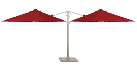 Shadowspec SU6 Series KITP6SQ25DUO Outdoor Umbrella, 1