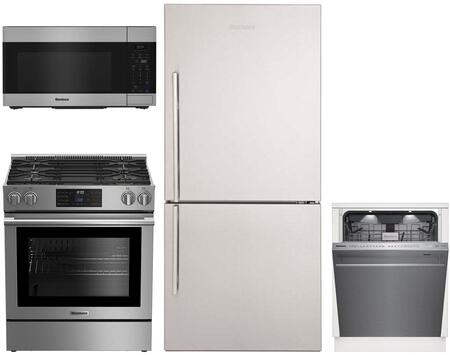Blomberg  1115109 Kitchen Appliance Package Stainless Steel, main image