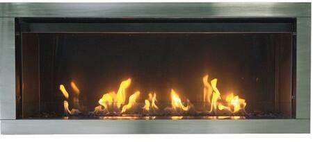 Sierra Flame Tahoe TAHOE45LP Fireplace Stainless Steel, Main View
