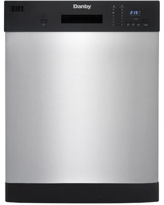 DDW2404EBSS 24″ Built-In Dishwasher with 12 Place Setting Capacity  Energy Star Certified  Electronic Controls with Digital Display  Delay Start  6