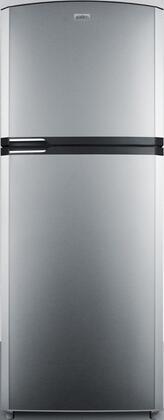 Summit  FF1422SSRHIM Top Freezer Refrigerator Stainless Steel, Main Image