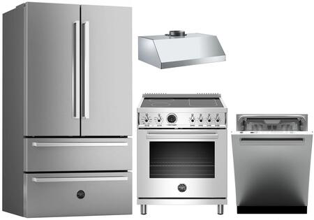 Bertazzoni 1054753 Kitchen Appliance Package & Bundle Stainless Steel, Main image