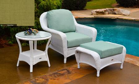 Tortuga Sea Pines LEXSTCO1WX Outdoor Patio Set White, 1