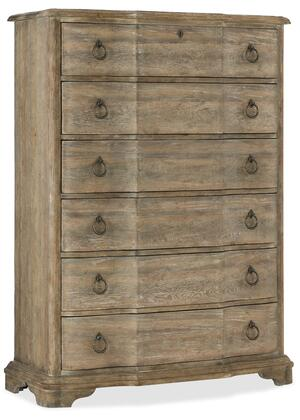 Hooker Furniture Boheme 575090010MWD Chest of Drawer, Silo Image