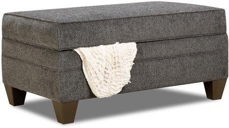 Lane Furniture Albany 6485095ALBANYSLATE Living Room Ottoman Gray, Ottoman