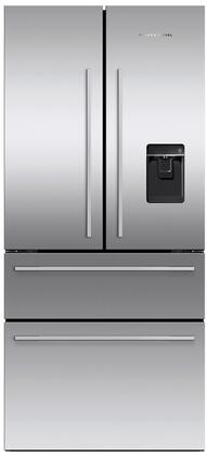 Fisher Paykel Contemporary RF172GDUX1 French Door Refrigerator Stainless Steel, RF172GDUX1 French Door Refrigerator